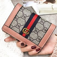 New fashion more letter print wallet purse women handbag