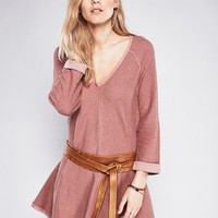 Free People Dressing Down Pullover Dress