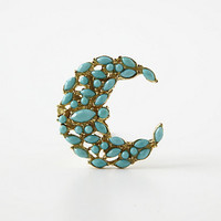 Bejeweled Crescent Knob