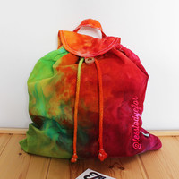 Good Vibes Tie Dye Backpack Bag (Honolulu - Ready for Dispatch)