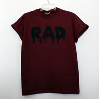 Maroon RAD Shirt S M L XL