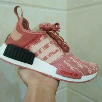 Best Deal Online Adidas Boost NMD R1 PK Women Men Running Shoes  BY9648