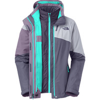 The North Face Women's Jackets & Vests 3-IN-1 JACKETS WOMEN'S CINNABAR TRICLIMATE® JACKET