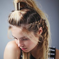 Free People Womens Metal Ponytail Cuff