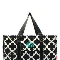 Utility Tote Large - Geometric Print - 3 Color Choices