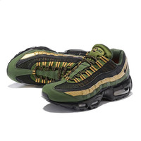 NIKE Air max Man sports running shoes sneakers green H-CSXY