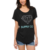 Diamond Supply Co. Charcoal Dolman Top at Zumiez : PDP