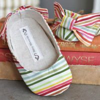 Toddler Shoes-Soft Soled- Rainbow Bliss- Sizes 5-9