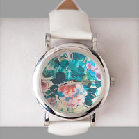 BLOOMFIELD FLORAL WATCH