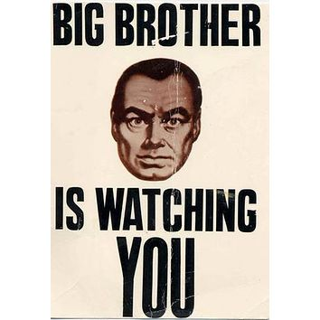Big Brother is Watching You Mug Photo Coffee Mug