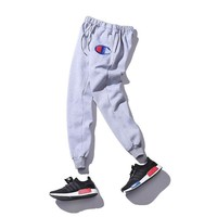 Champion Embroidery Casual Sports Pants [9521193863]