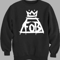 Fall Out Boy Logo Sweater for Mens Sweater and Womens Sweater ***