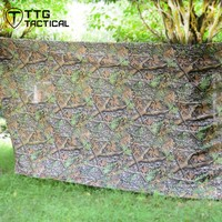 TTGTACTICAL 4x1.5M UltraLight Camouflage Netting Realtree Camo Hunting Blind Quick Set Camo Unlimited Camo Systems Blind