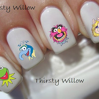 Disney The Muppets Nail Decals