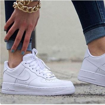 Air force 1 NIKE Women Men Running Sport Casual Shoes Sneakers
