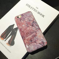 Hight Quality Marble iPhone 6 6s Plus creative case Gift-132