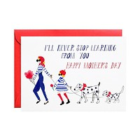 French Mommy - Mother's Day Greeting Card [Mr. Boddington's Studio]