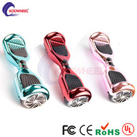 2016 Electroplate Giroskuter 2 Wheels Smart Self Balancing Scooter Hoverboard Plating Electric Skateboard Air Hover Board ul2272