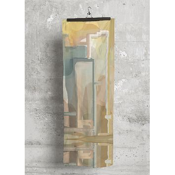 Golden Abstract City