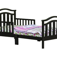 Dream On Me, Elora Collection Toddler Bed, Black