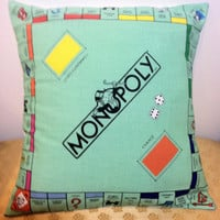 Monopoly Pillow Insert 16 x 16 ONLY 2 LEFT by SherrysStock on Etsy