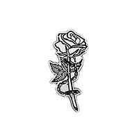 Chained Rose Pin