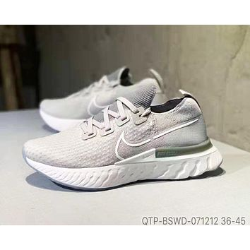 Nike Epic React Flyknit Trending Women Men Leisure Sport Shoes Sneakers 5#