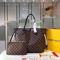 Kuyou Lv Louis Vuitton Fashion Women Men Gb2969 M40990 Monogram Order Business Bags Neverfull Gm