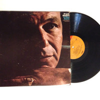 Vinyl Record Frank Sinatra A Man Alone and Other Songs Of Rod McKuen LP Album 1969 Some Traveling Music