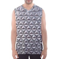 Men's Epcot Spaceship Earth Inspired Athletic Tank Top