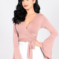Desi Top - Mauve