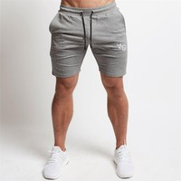 New Workout Running Shorts Men Soft Jogging Short Pants Cotton Breathable GYM Sport Shorts Men Bodybuilding Fitness Sweatpants
