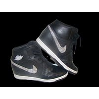 Dunks - Mail In -  Swoosh White Nike Dunk Wedges
