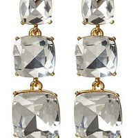 Shaken And Stirred Graduated Linear Earring
