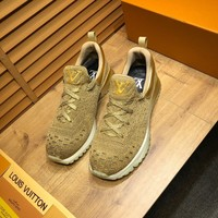 LV Louis Vuitton Men's Flyknit V.N.R Sneakers Shoes