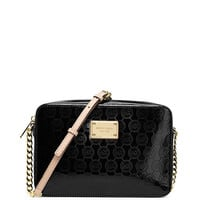 MICHAEL Michael Kors Signature Print Metallic Large Cross-Body Bag | Dillards