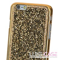 Luminous Crystal iPhone 6 Case in Gold - Luxe-Case