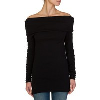Joseph Black Off-The Shoulder Top