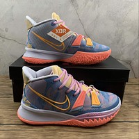 Morechoice Tuhi Nike Kyrie 7 Preheat Expressions Basketball Shoes Zoom Kd7 Sneaker Dc0588-003
