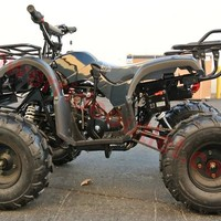 """PRO Coolster Spec-XR Yamaha Grizzly Clone 125cc ATV ( Honda CG Series Clone Engine, Big 19"""" Tires with 8"""" Wheels, Hi-Power 125cc Engine, Fully Automatic w/ Reverse, Big Size Body Frame for Kids,High Quality, Remote Control Safety Feature)"""
