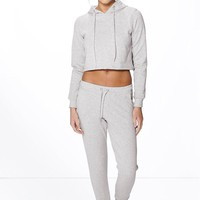 Ellie Crop Hoodie And Jogger Lounge Set