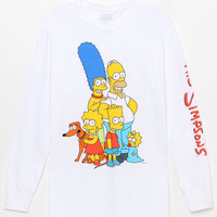 The Simpsons Family Long Sleeve T-Shirt at PacSun.com