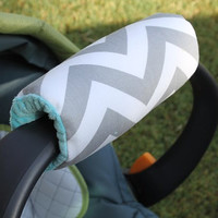 Infant Car Seat Padded Handle, you choose faric and minky revisible