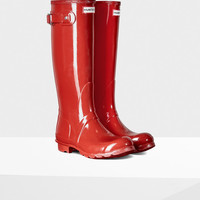 Women's Original Tall Gloss Rain Boots | Official Hunter Boots Site