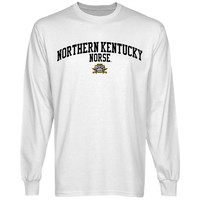 Northern Kentucky University Norse Team Arch Long Sleeve T-Shirt - White
