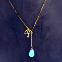 rainy day necklace the perfect christmas gift