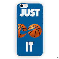 Just Do It Logo Basketball Special For iPhone 6 / 6 Plus Case