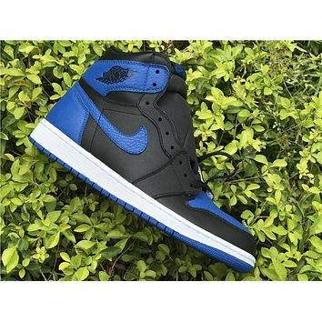 Air Jordan 1 black royal blue  Basketball Shoes 40-47