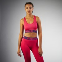 Gymshark Fit Sports Bra - Cranberry/Rich Purple