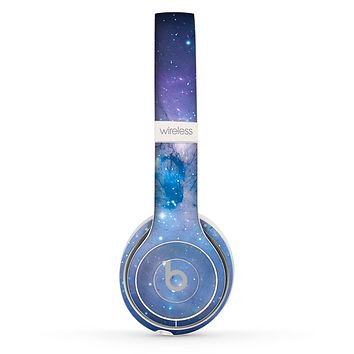 The Blue & Purple Mixed Universe Skin Set for the Beats by Dre Solo 2 Wireless Headphones
